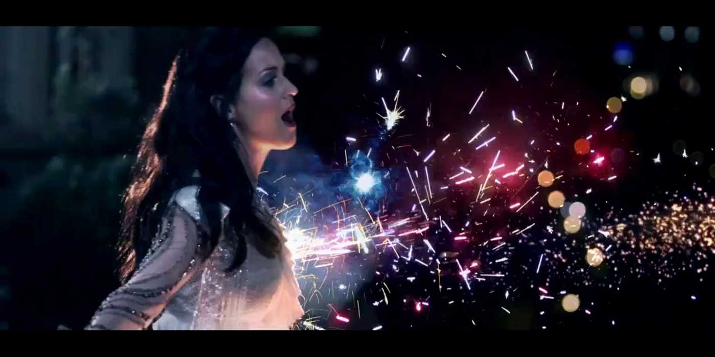Katy perry fireworks super bowl halftime show
