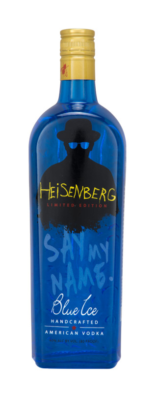 Heisenberg Blue Ice Vodka_Say My Name