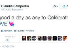 Claudia Sampedro Twitter