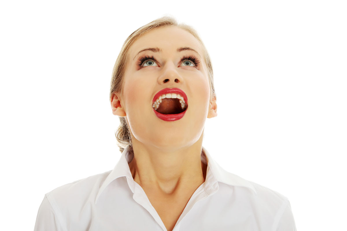 Open Mouth Woman