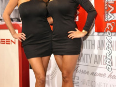 Justene and Dawn Jaro